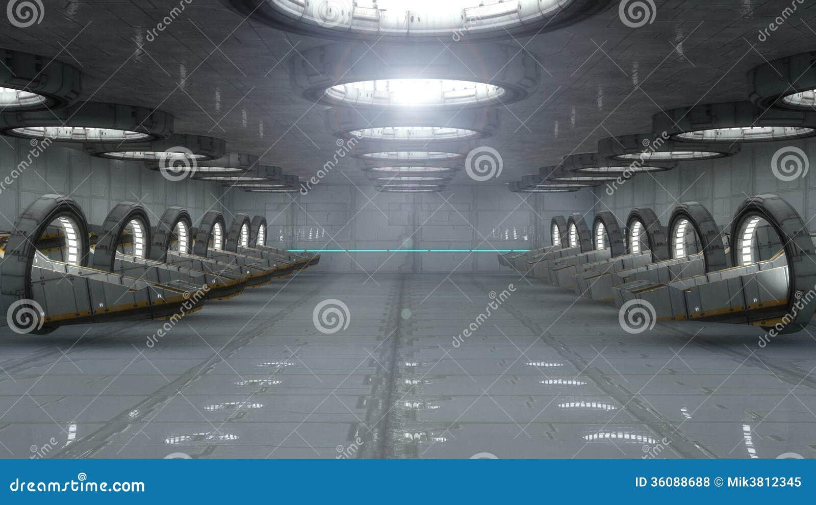 Futuristisk inre