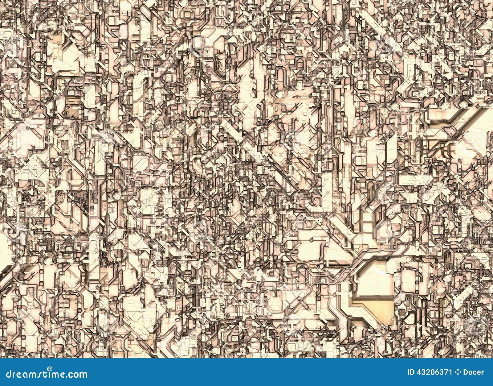 Download Futuristiska Abstrakta Bakgrunder Bästa Sikt Av Takbyggnad Fotografering för Bildbyråer - Bild av kaleidoscope, linjer: 43206371