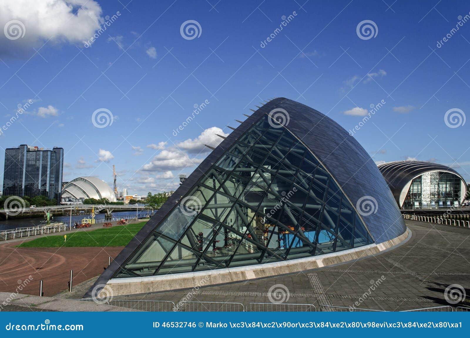 Futurystyczny budynek imax kino