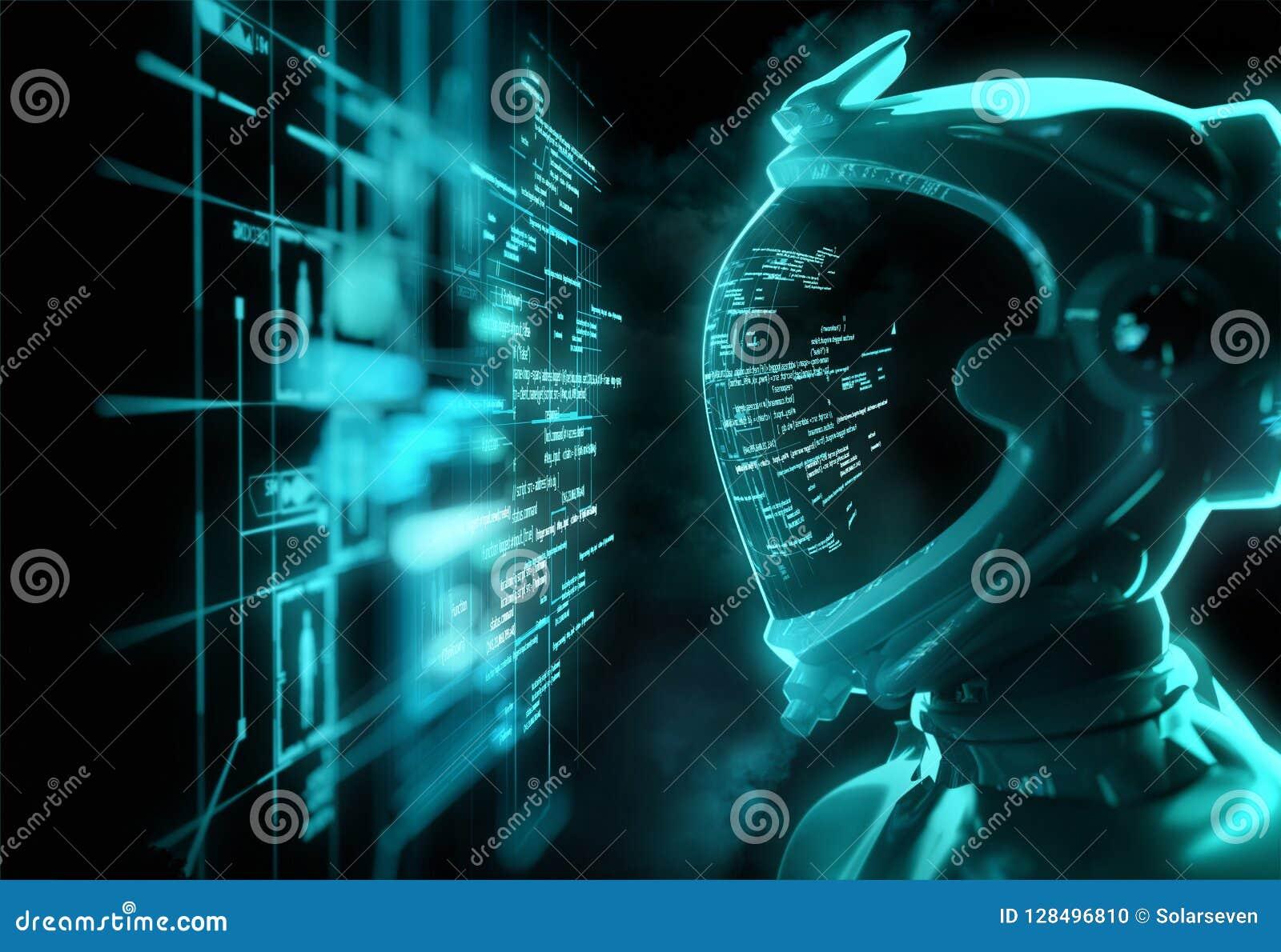 Futurystyczny kosmita - Łamać kod