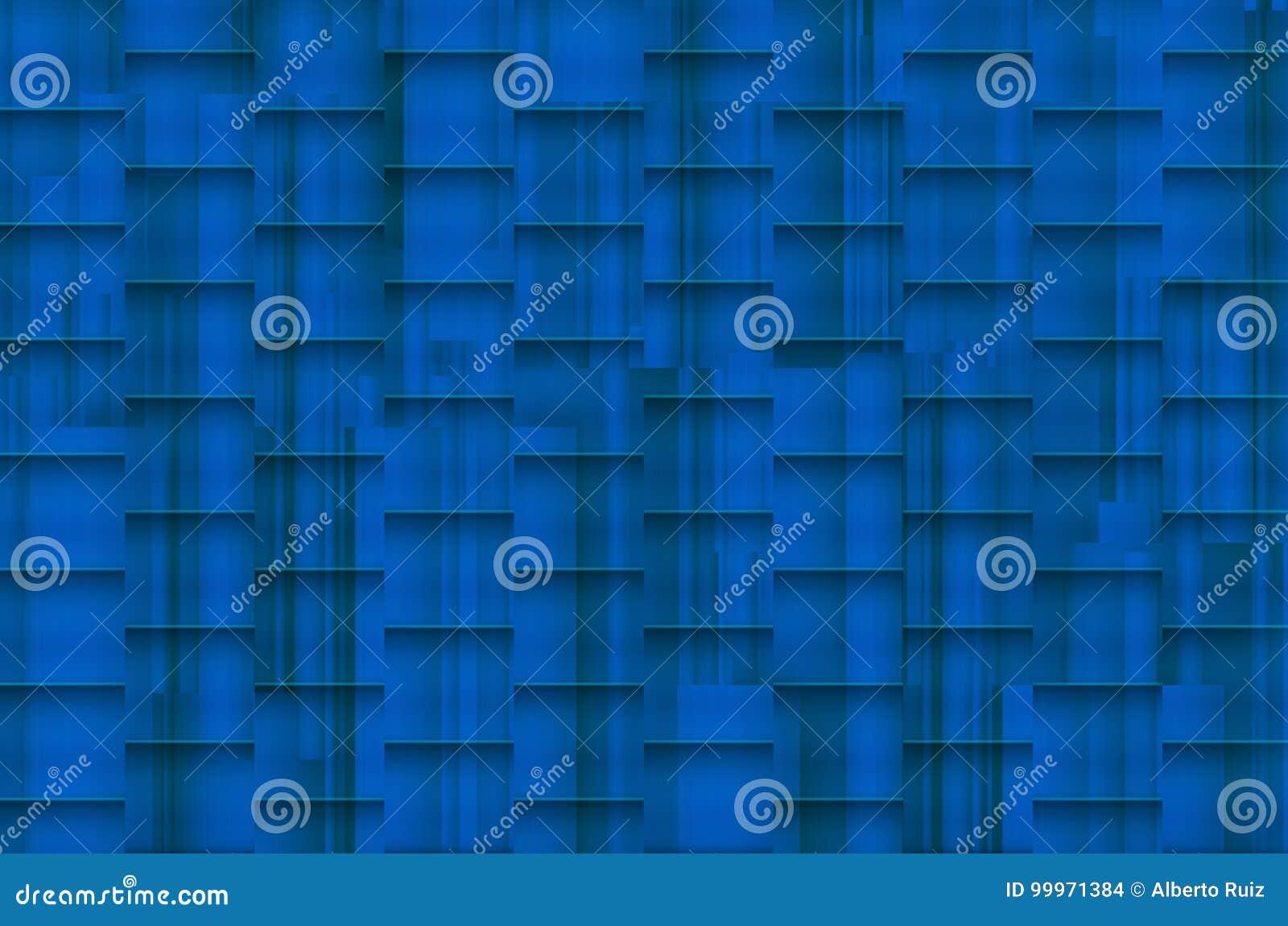 Fuzzy bluish background with architectonic shadows