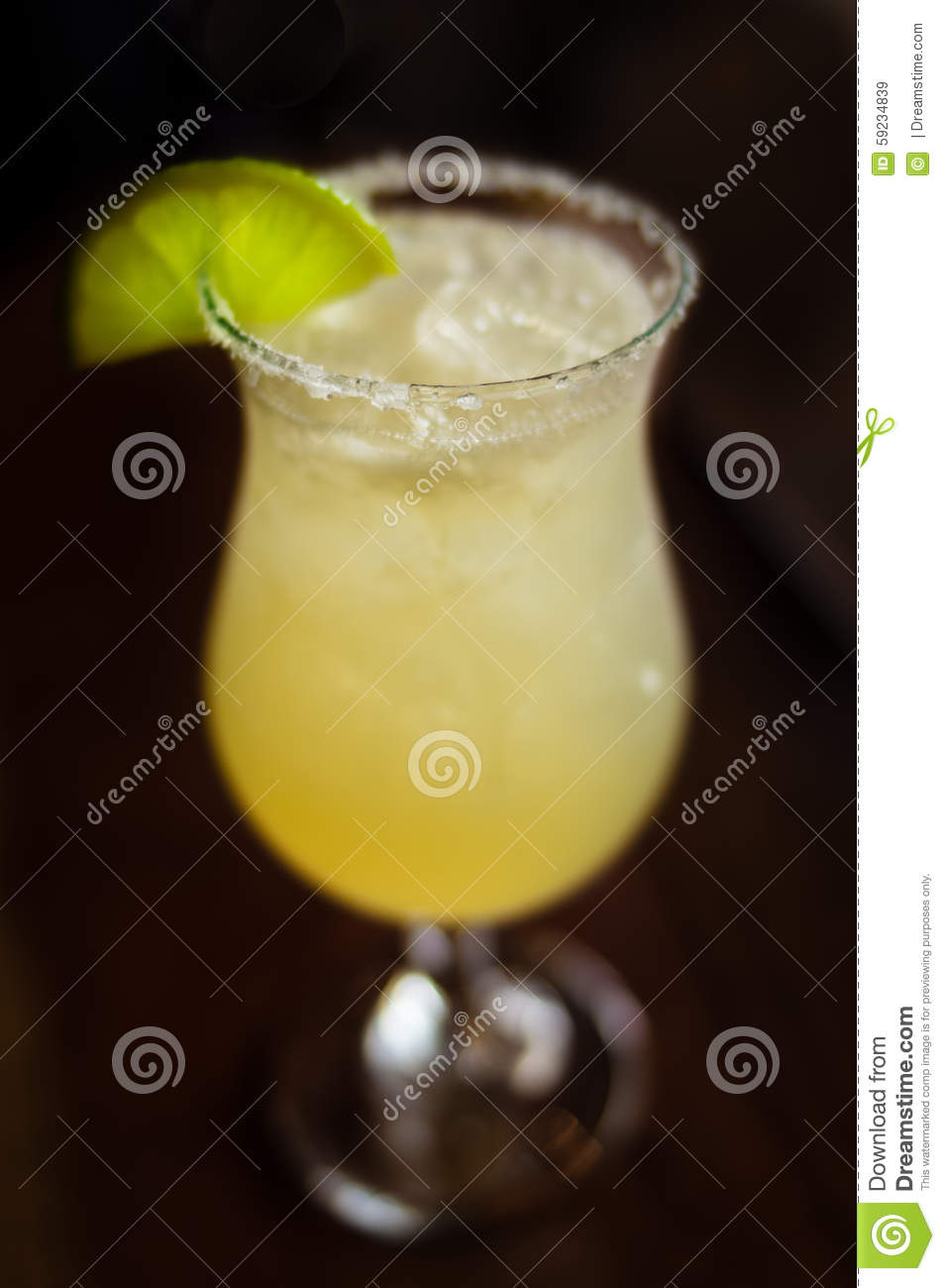Fuzzy Margarita With Lime