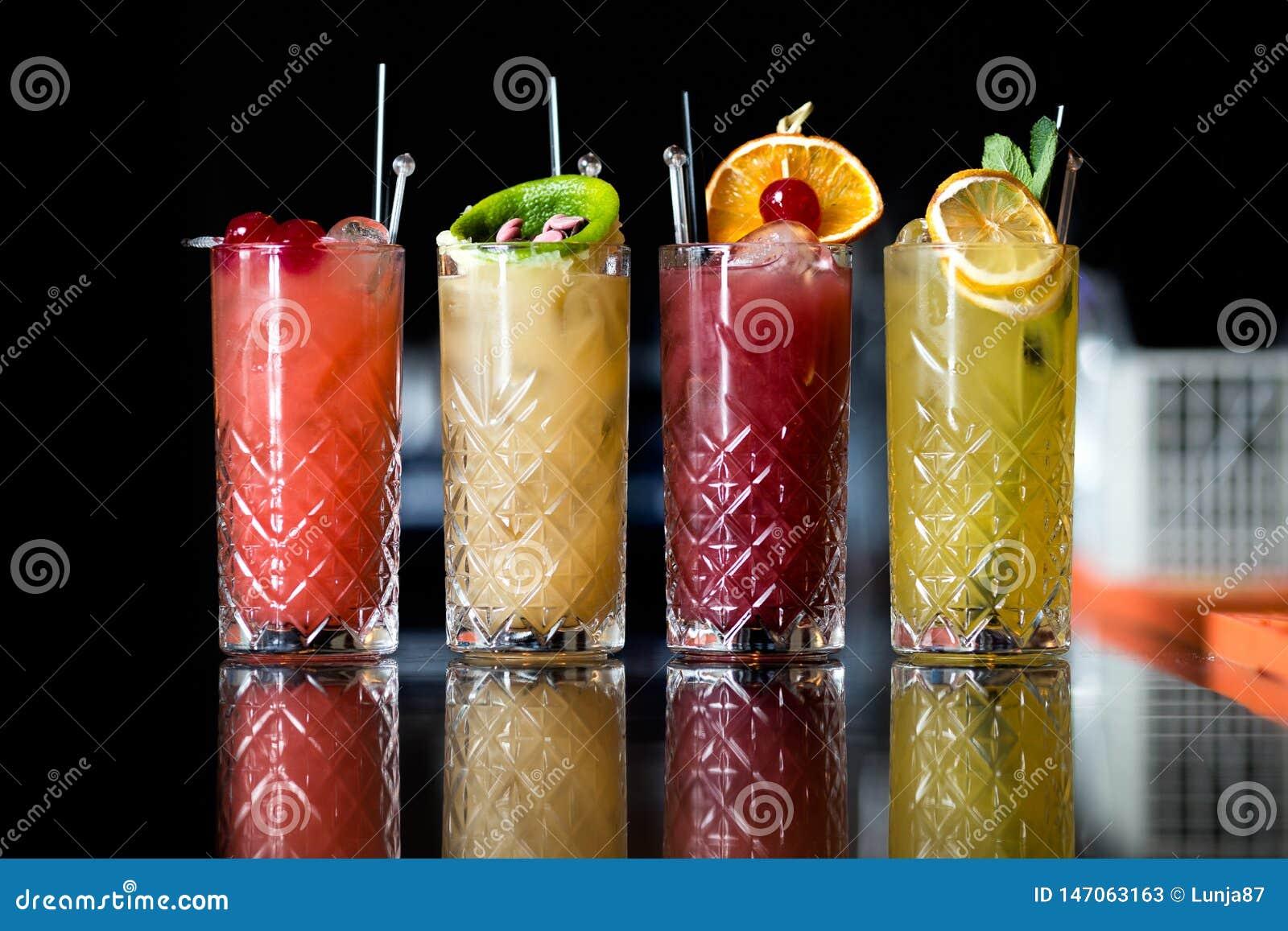 Fyra fantastiska fruktcoctailar
