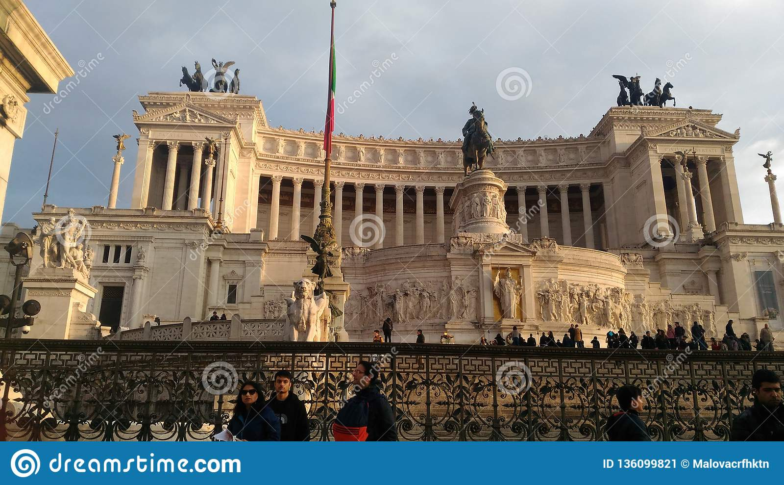 Fyrkant av Venedig i Roma