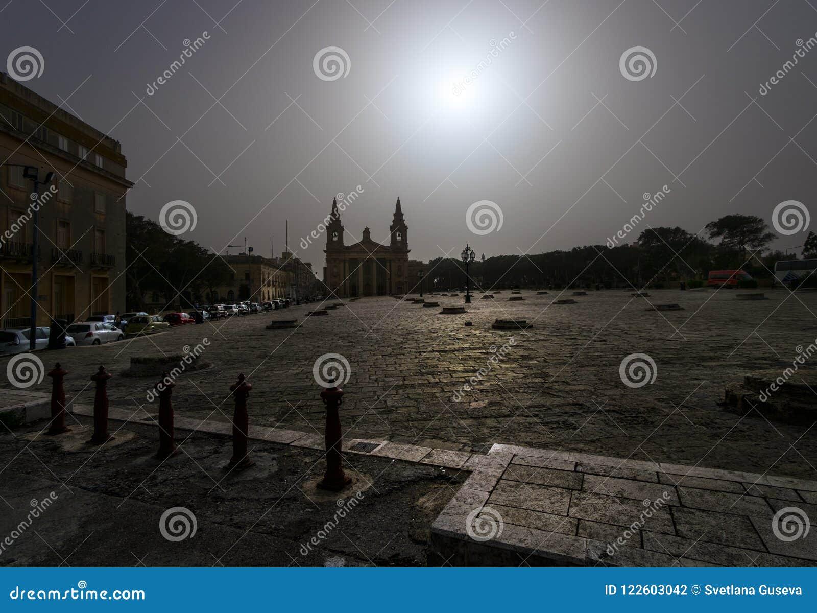Fyrkantiga Valletta middag malta