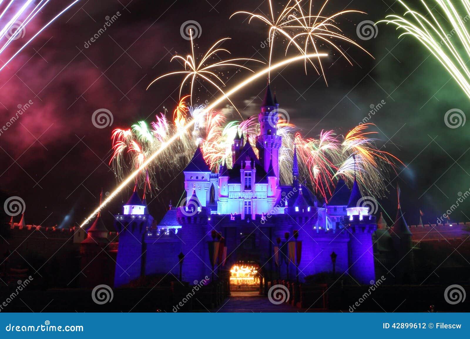 Fyrverkerier HK Disneyland