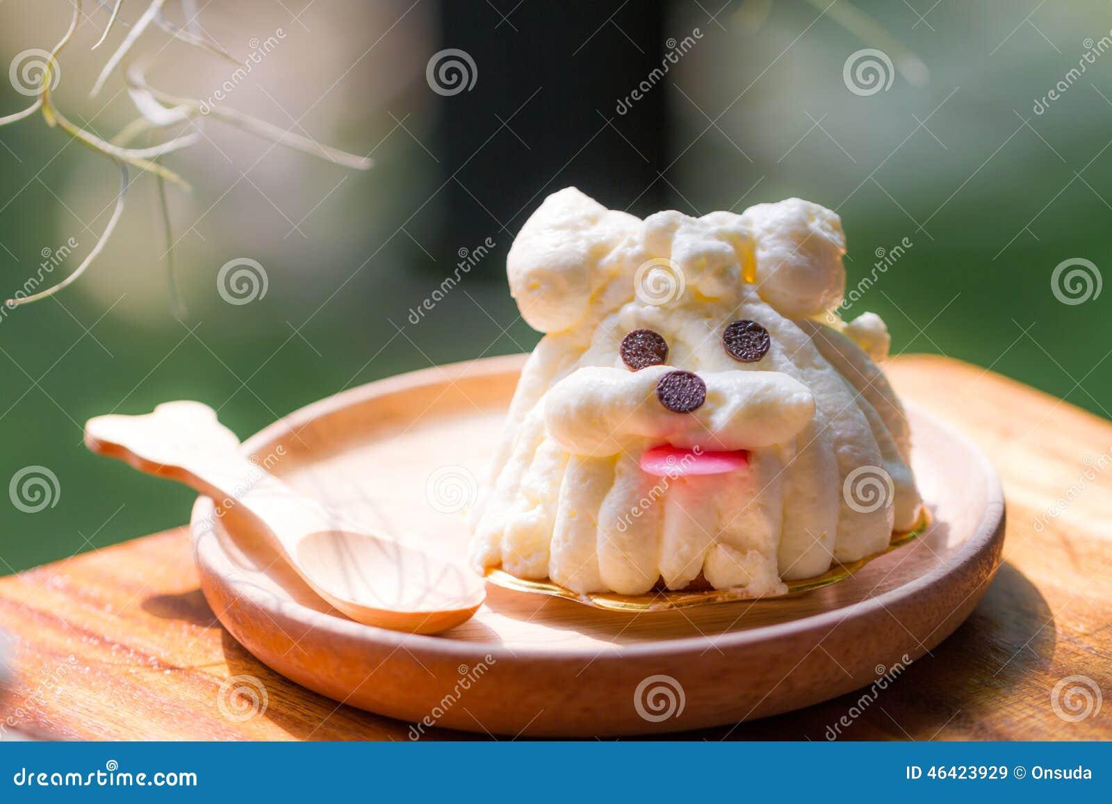Célèbre Gâteau D'anniversaire Sous Forme De Terrier De Yorkshire Blanc  OS74