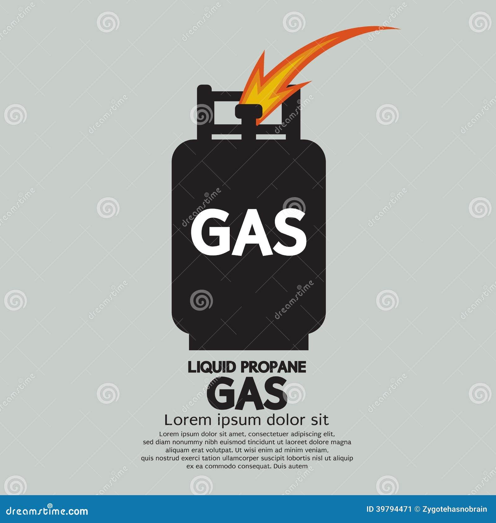 Gás do propano líquido