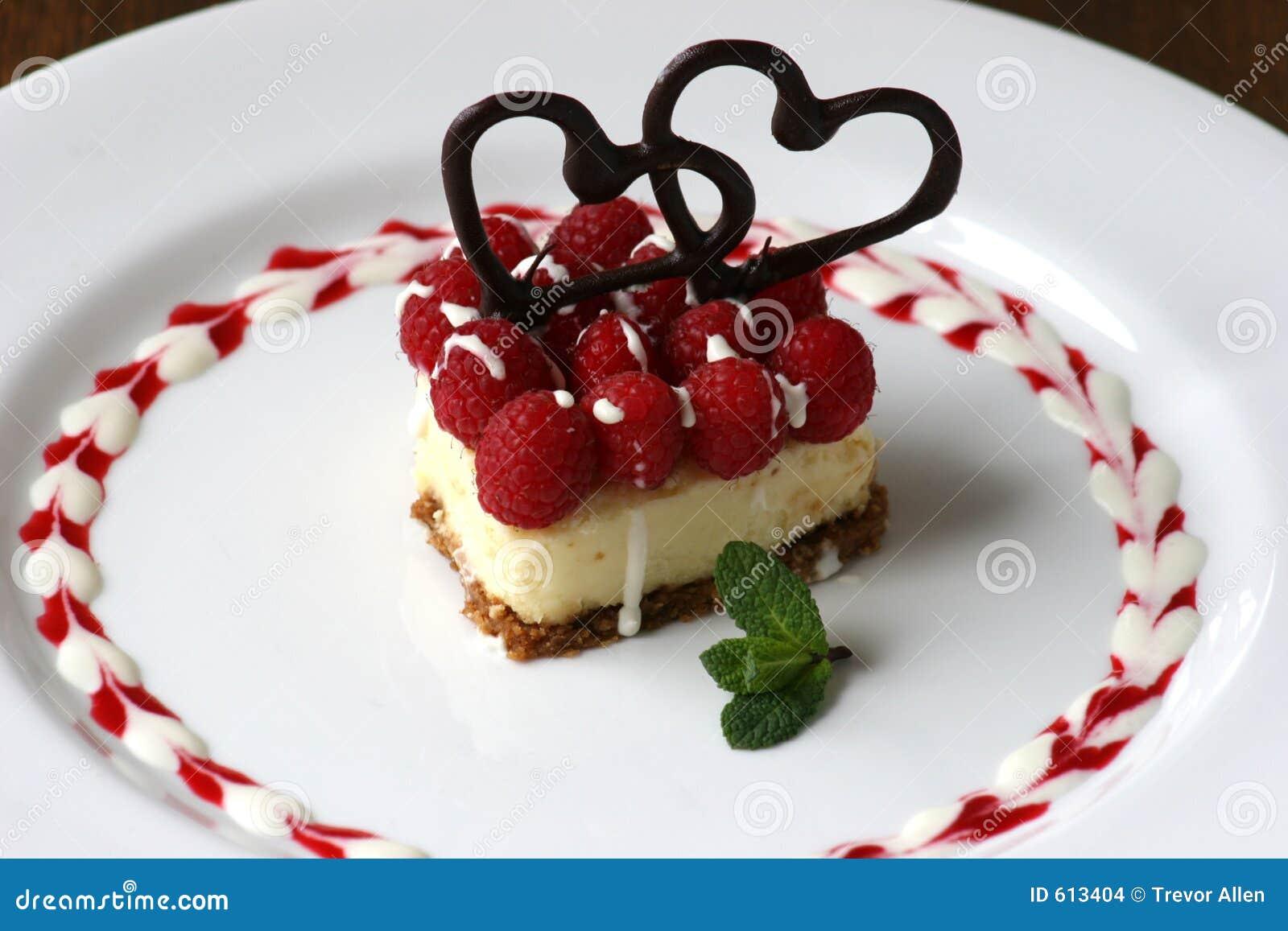 Gâteau au fromage de Valentines
