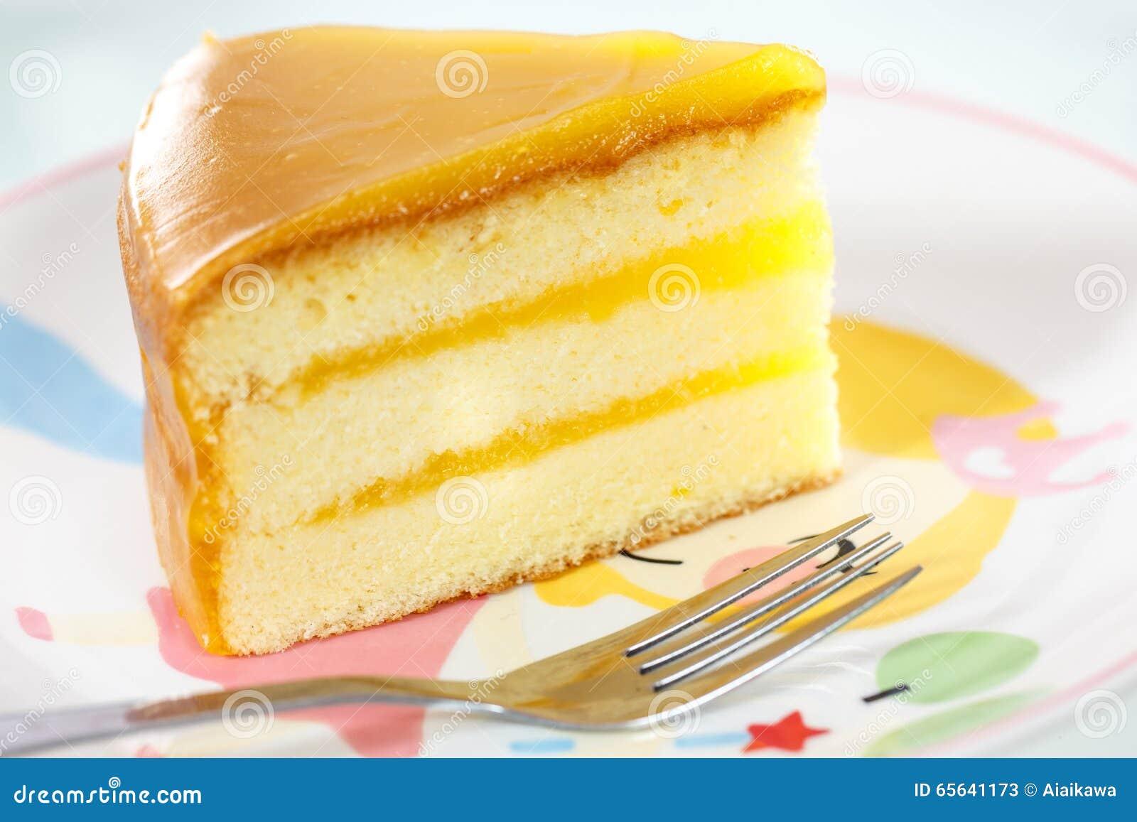 Gâteau au fromage orange