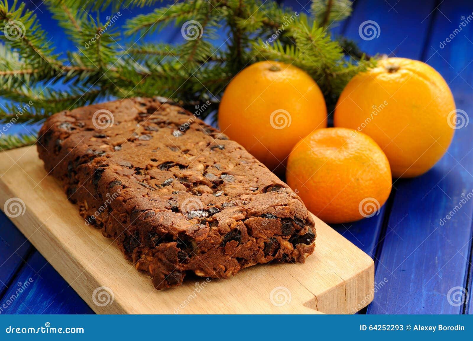 Gateau fait avec des oranges