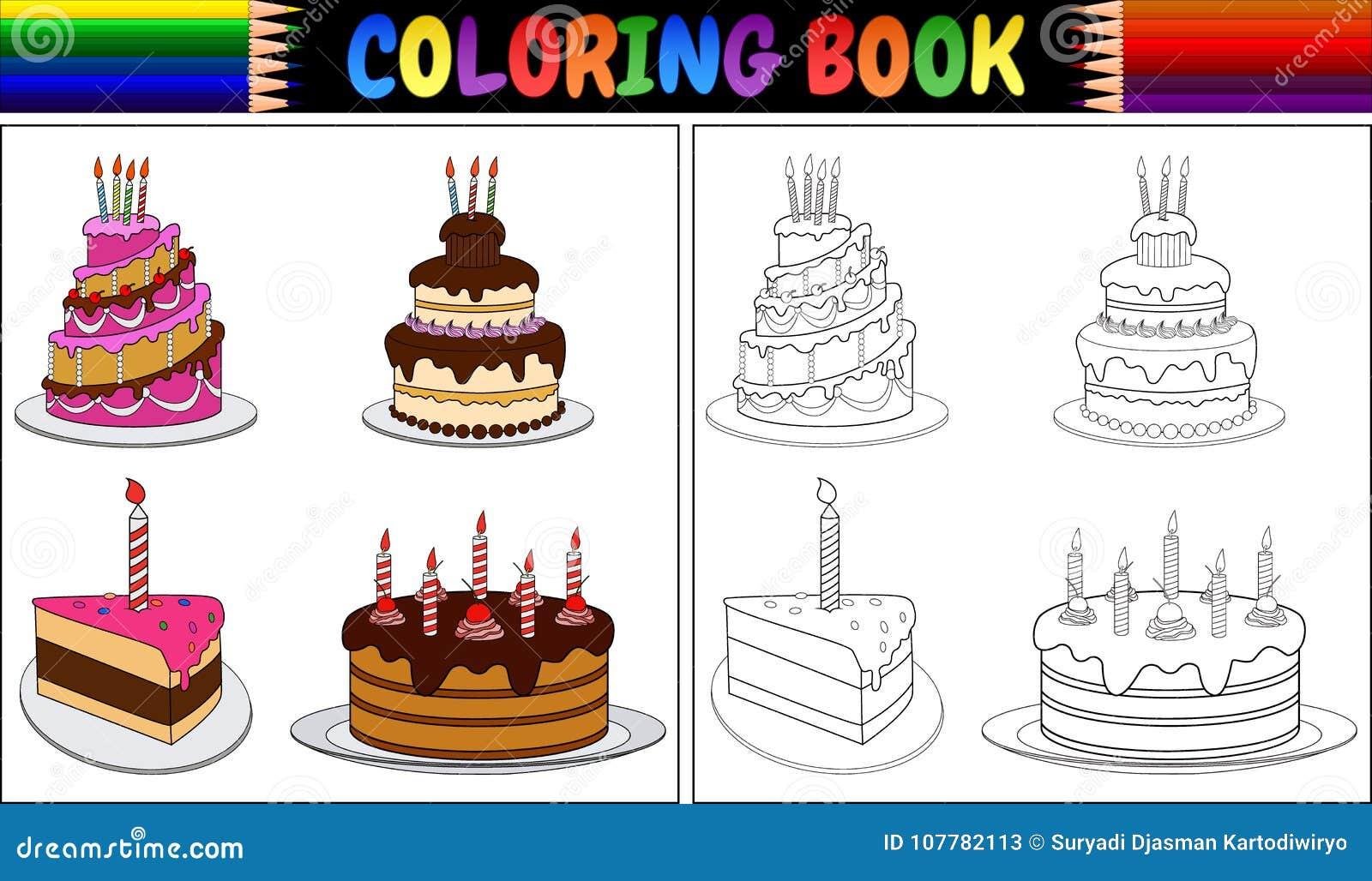 Coloriage gateau 2 bougies www - Dessin sur gateau anniversaire ...