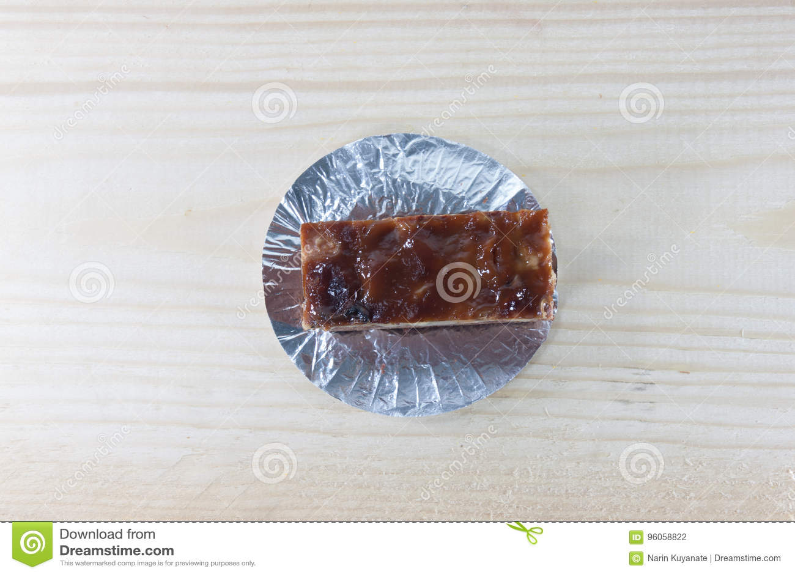 Gâteau de caramel