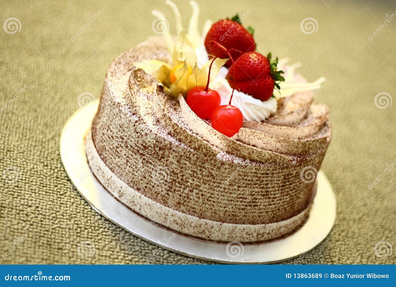 Gâteau de chocolat crémeux
