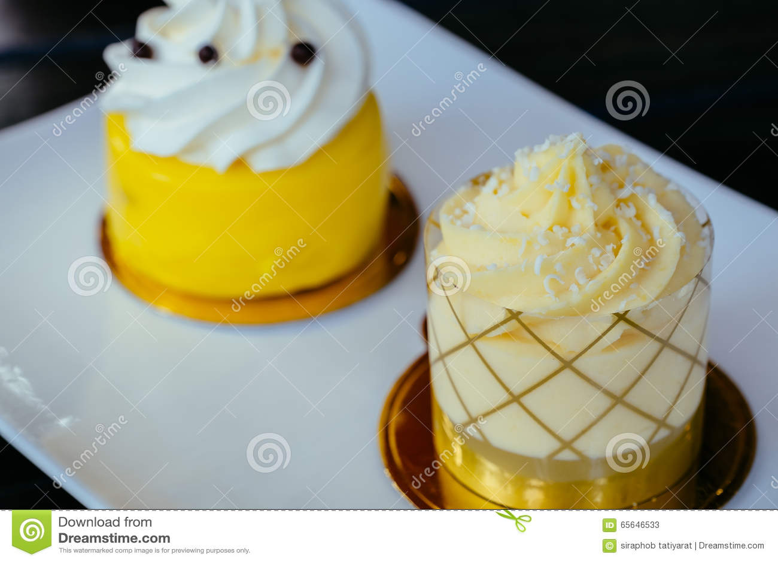 Gâteau de citron