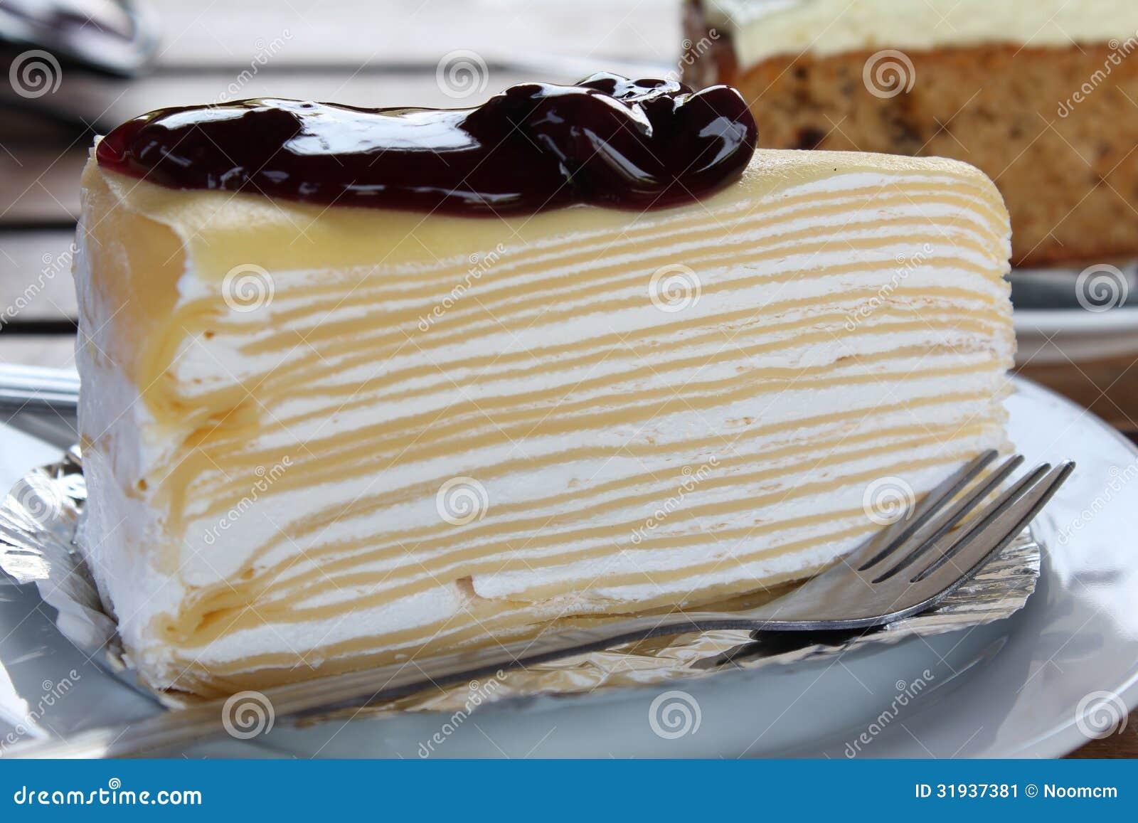 Plus d`images similaires à ` Gâteau de crêpe de myrtille `