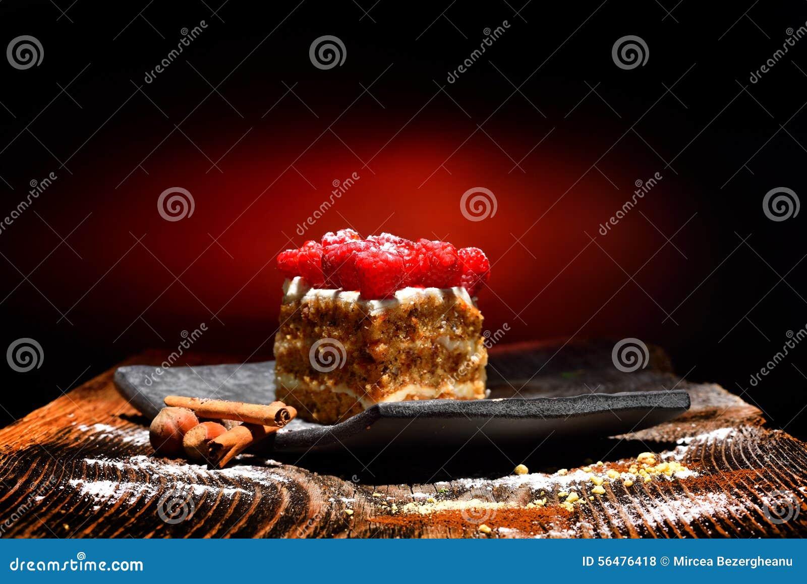 Gâteau de framboise