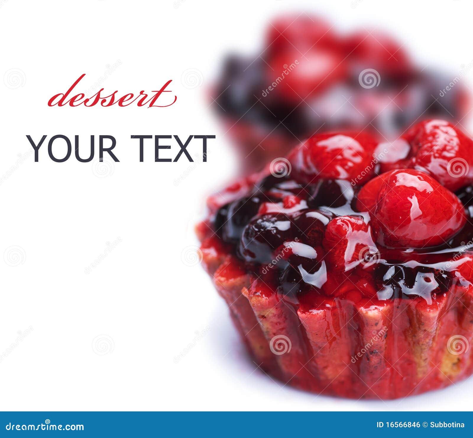 Gâteau de fruit