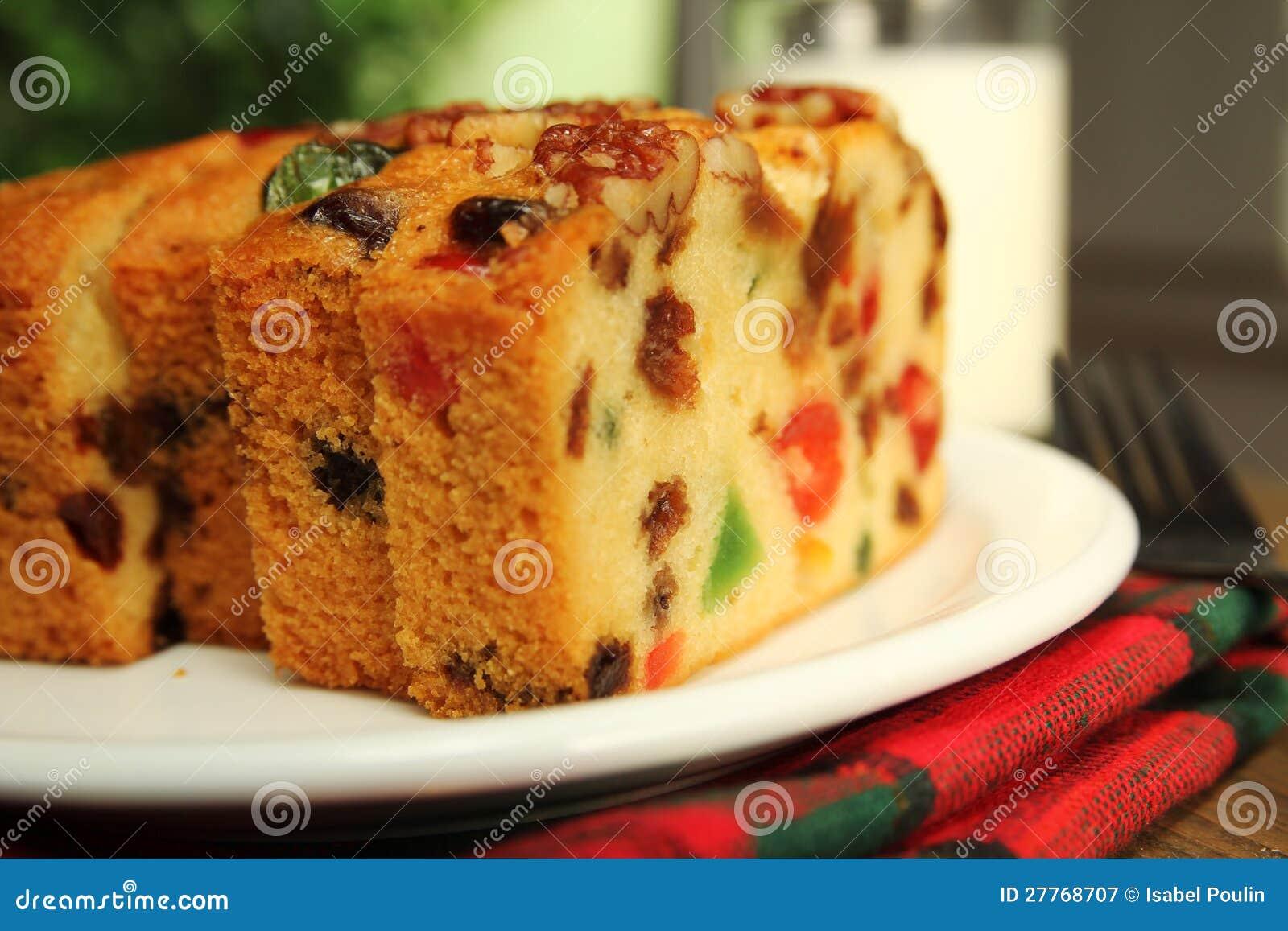 Gâteau de fruit de Noël
