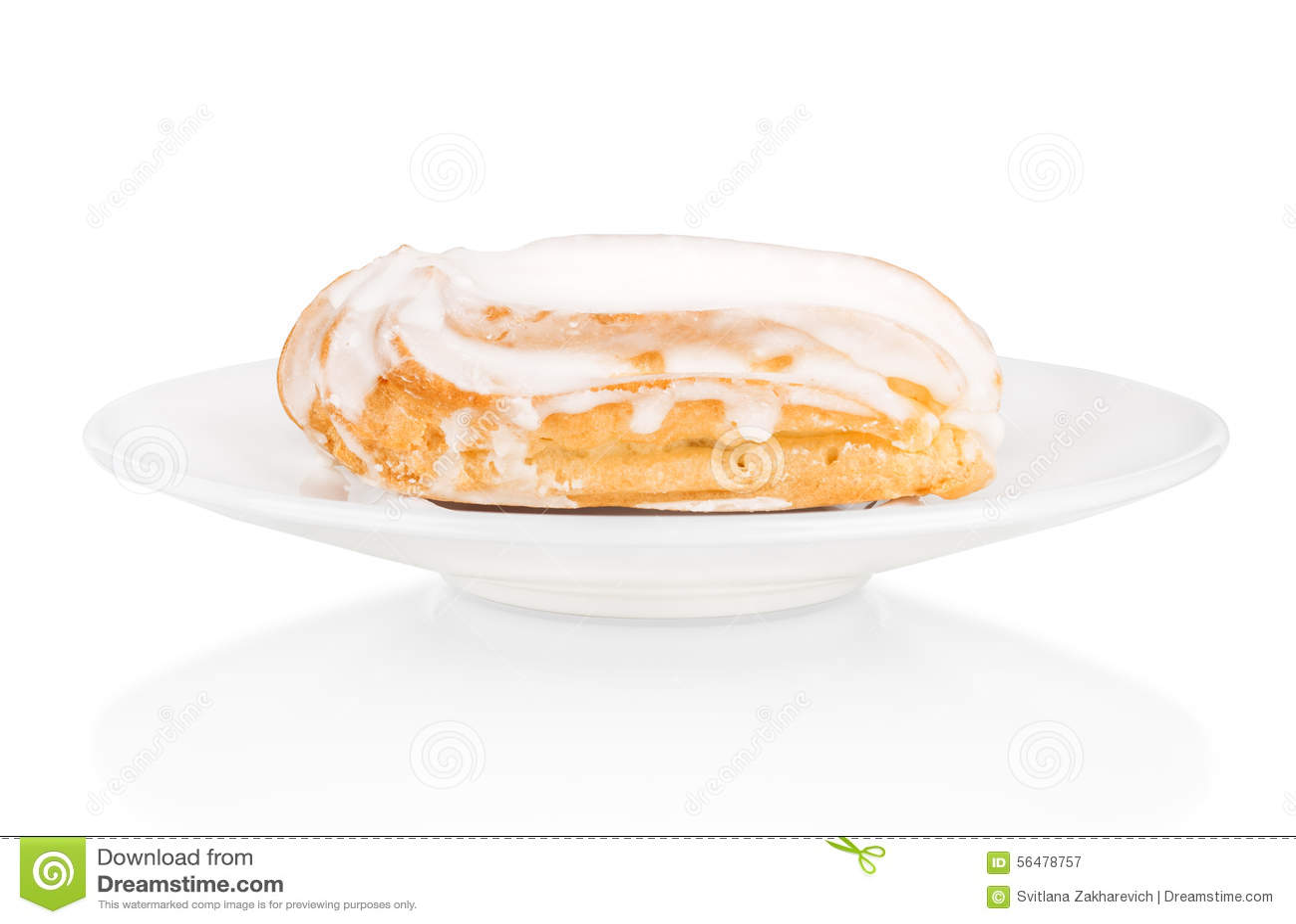 Gâteau de la plaque