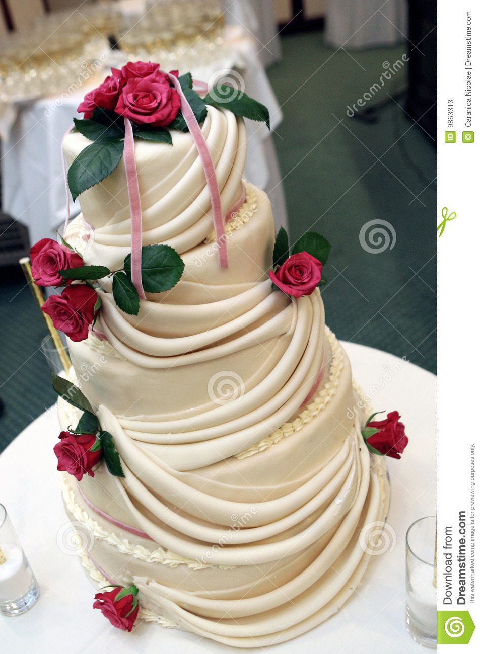 Raw Wedding Cake
