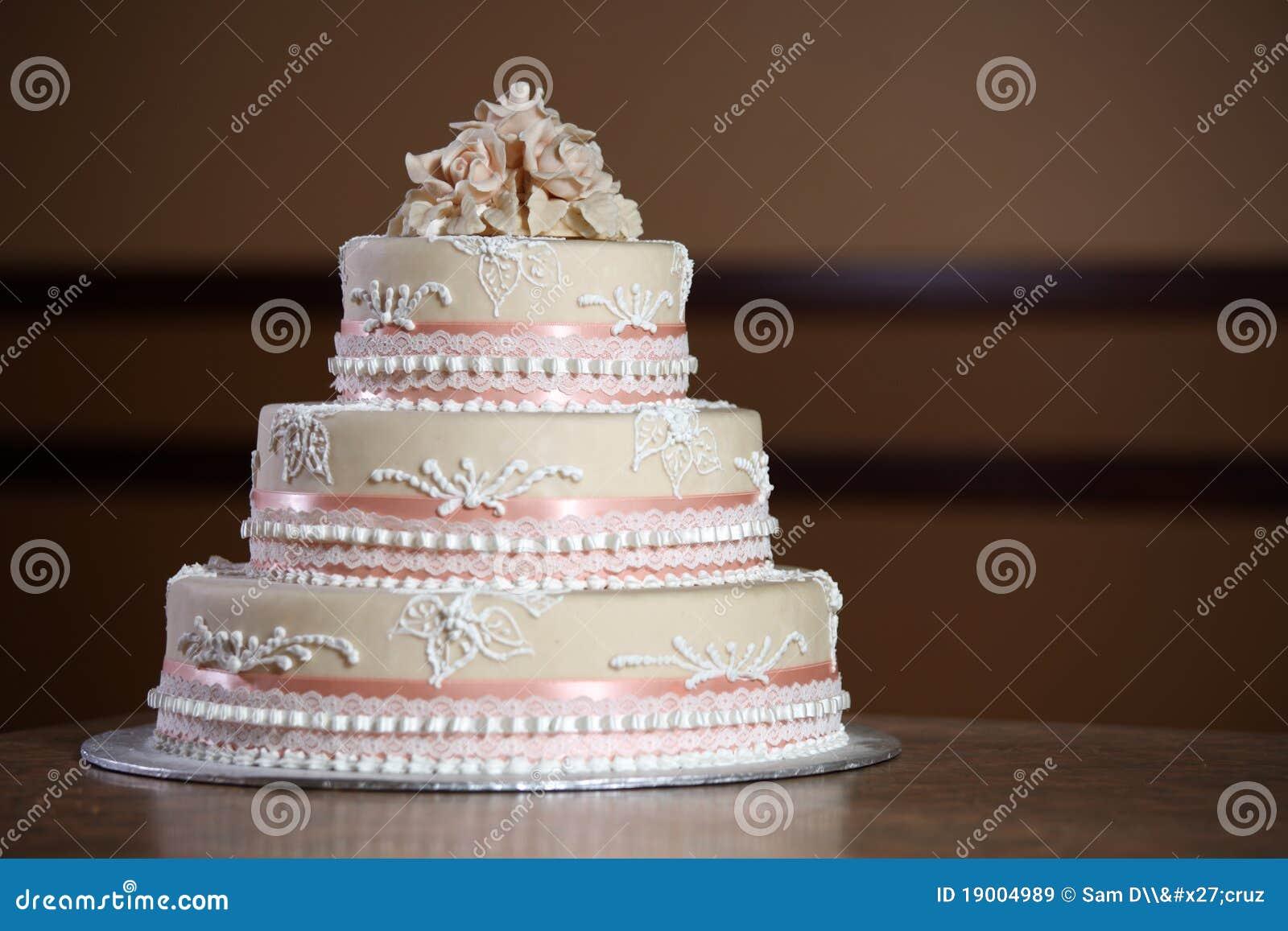 Gâteau De Mariage De Luxe Image Stock Image Du Extrémité