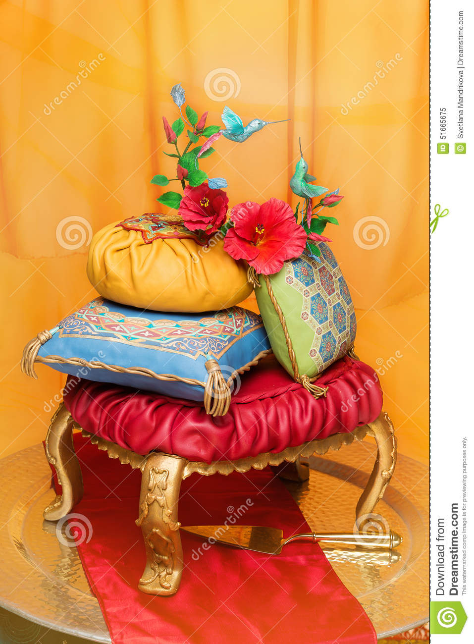 decoration gateau mariage oriental. Black Bedroom Furniture Sets. Home Design Ideas