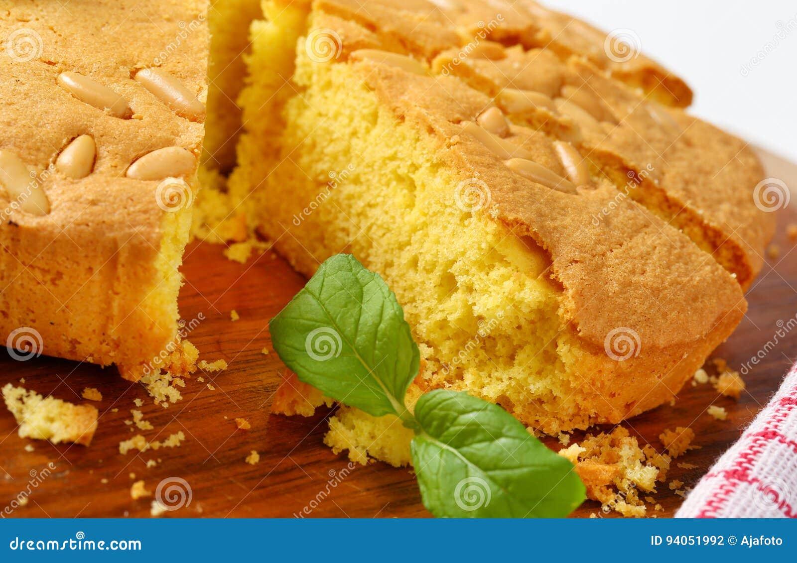 Gâteau mousseline de beurre