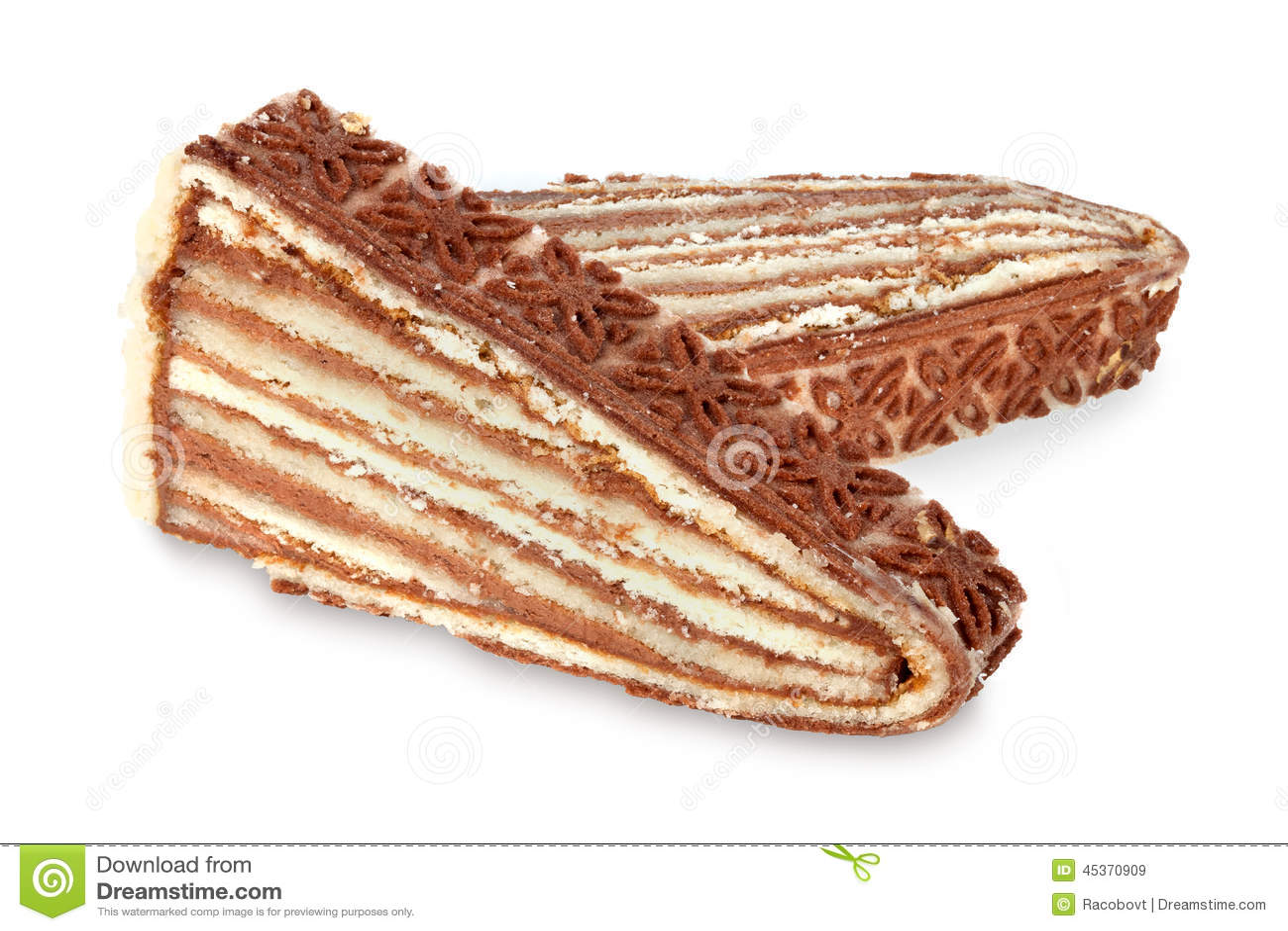 Gâteau posé