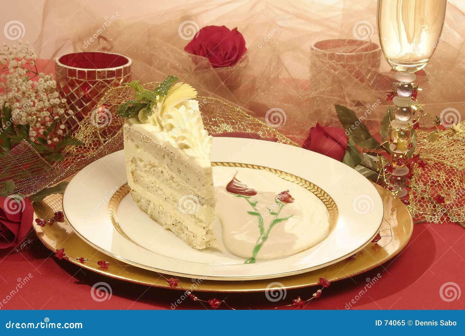 Gâteau sensuel de pavot de citron