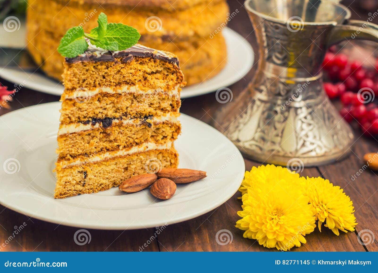 Gâteau Traditionnel D\u0027Esterhazy De Hongrois Foyer Sélectif