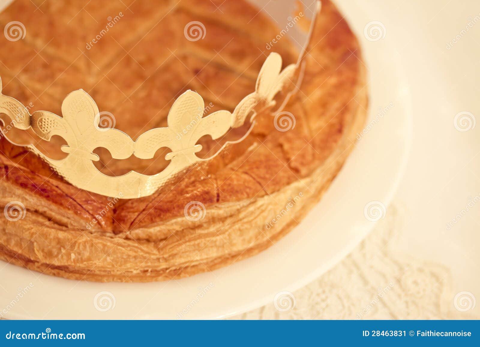 Gâteau traditionnel de Français, DES Rois de Galette