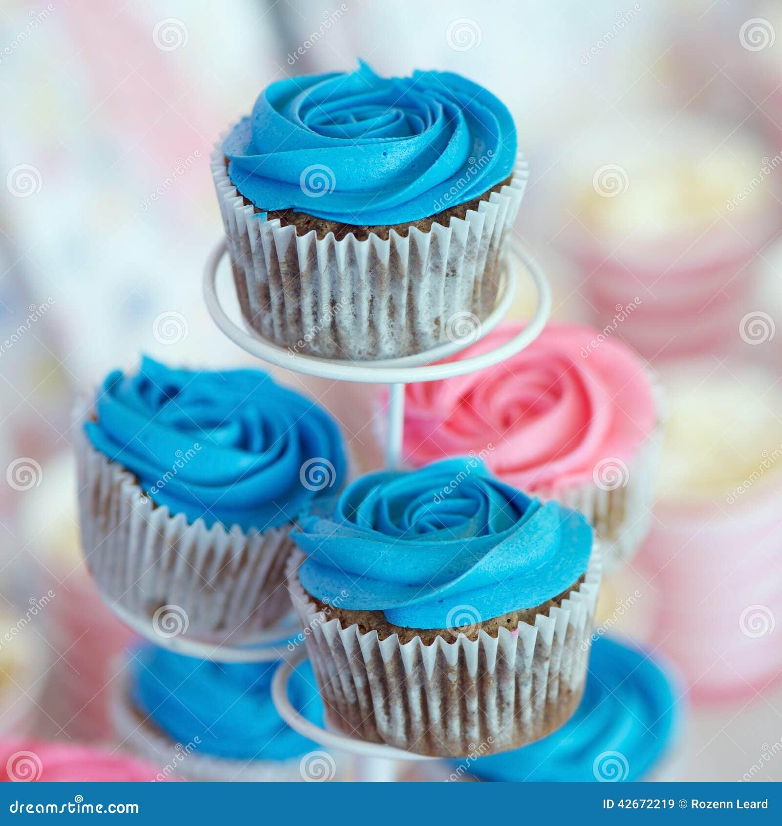 Gâteaux bleus