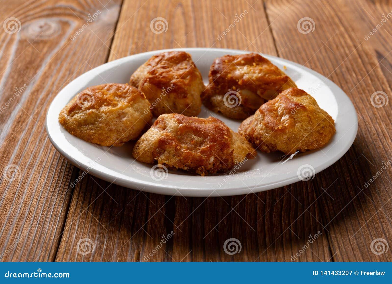 Gâteaux caoutchouteux doux ou gâteaux de chickee