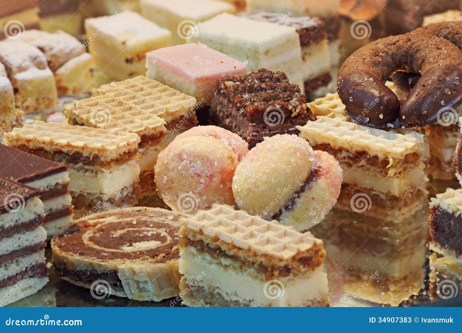 Gâteaux faits maison