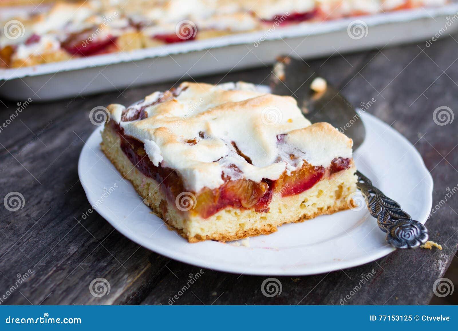 Gâteaux mousseux savoureux