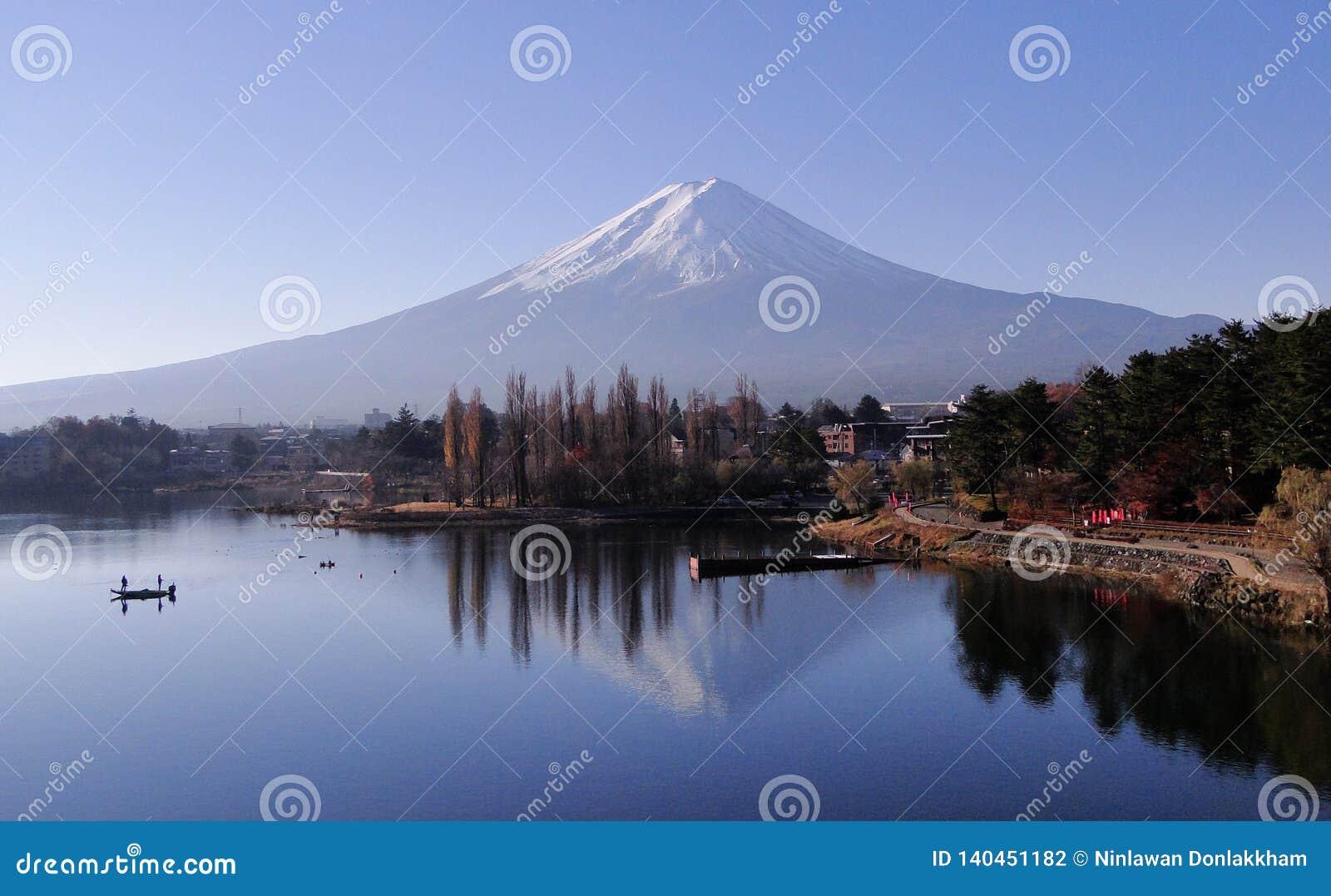 Góra Fuji - ikonowy Japonia