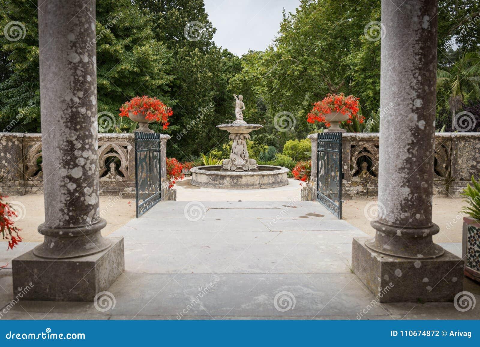 Gärten des Monserrate-Palastes in Sintra