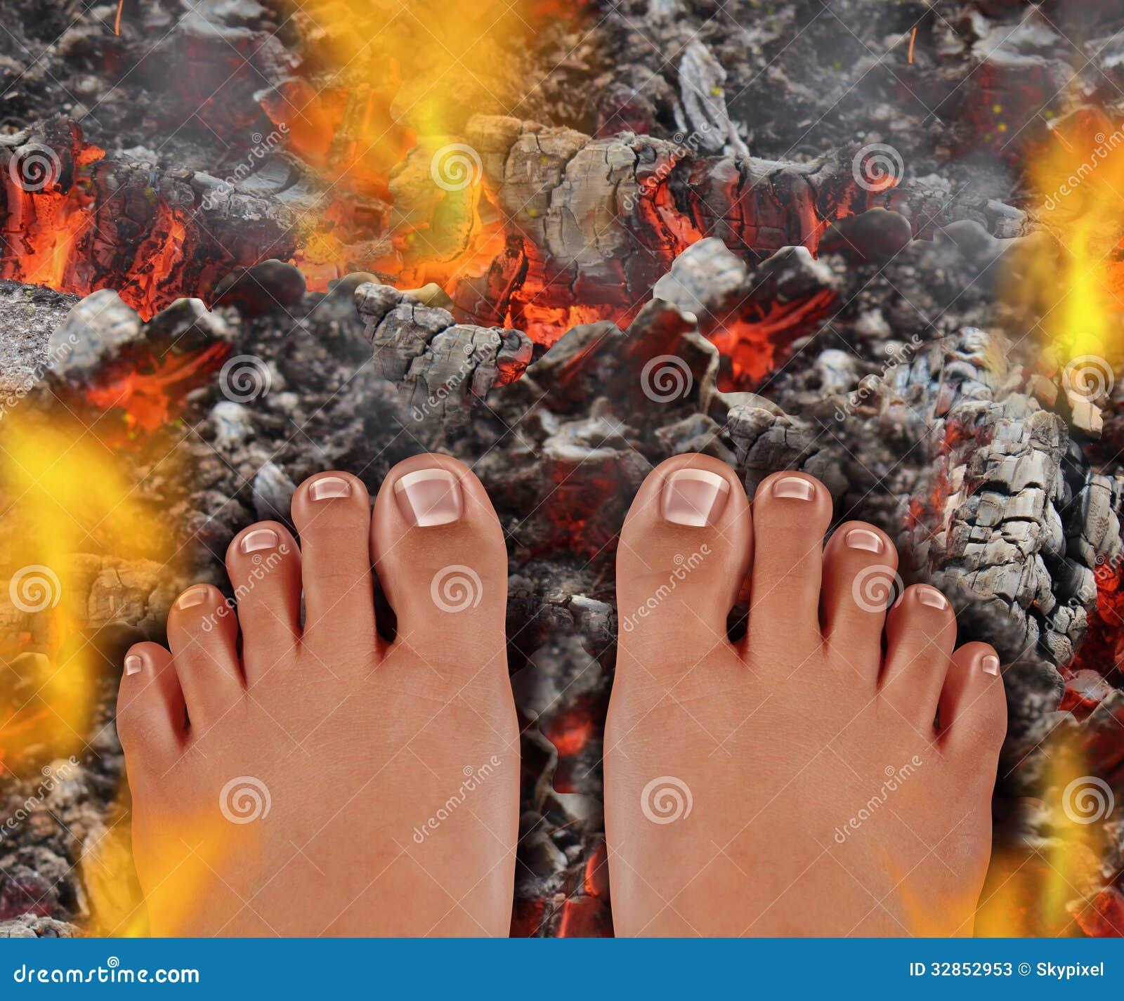 Gå på brand