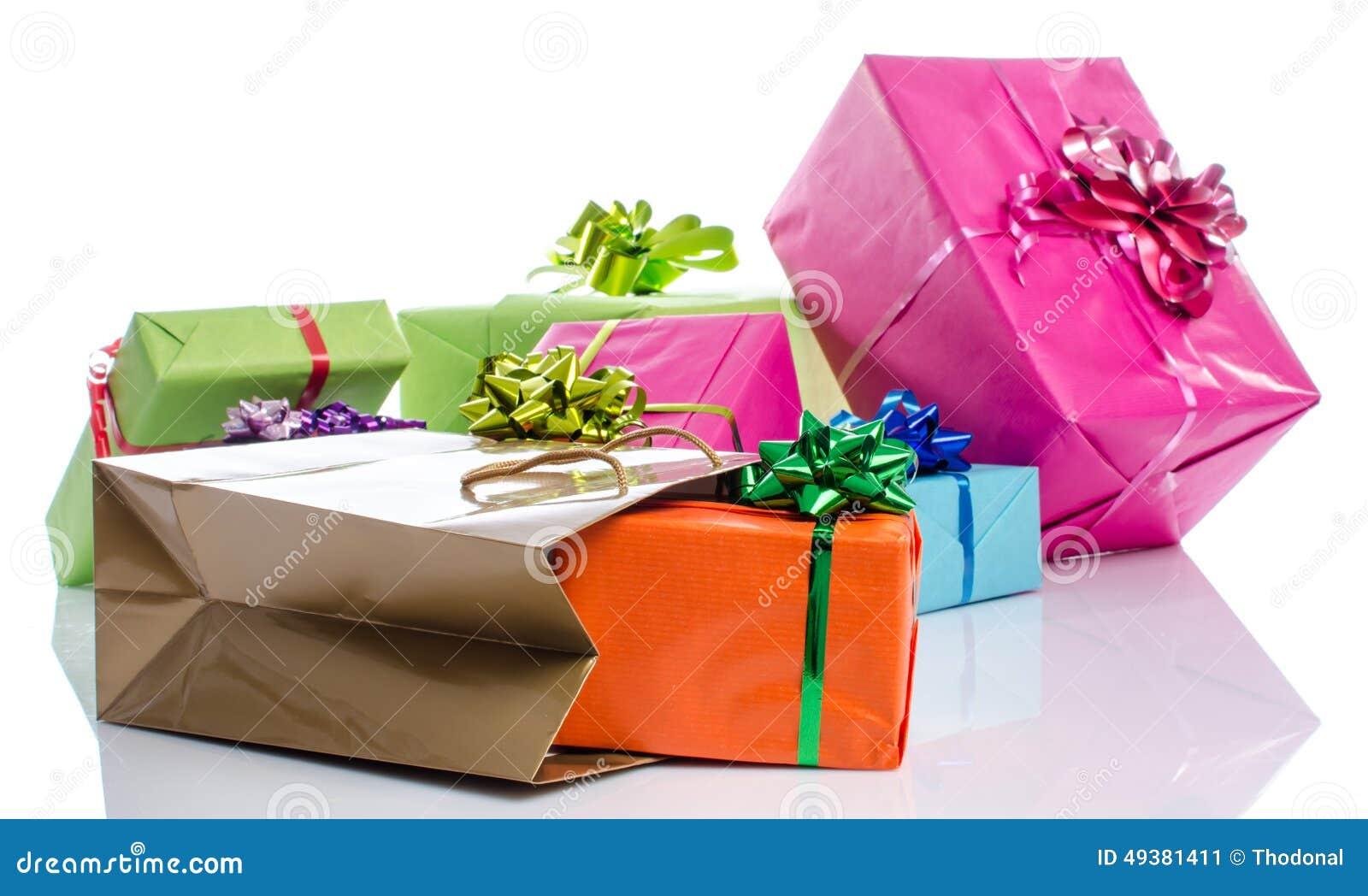 Gåvaaskar och gåvapåse