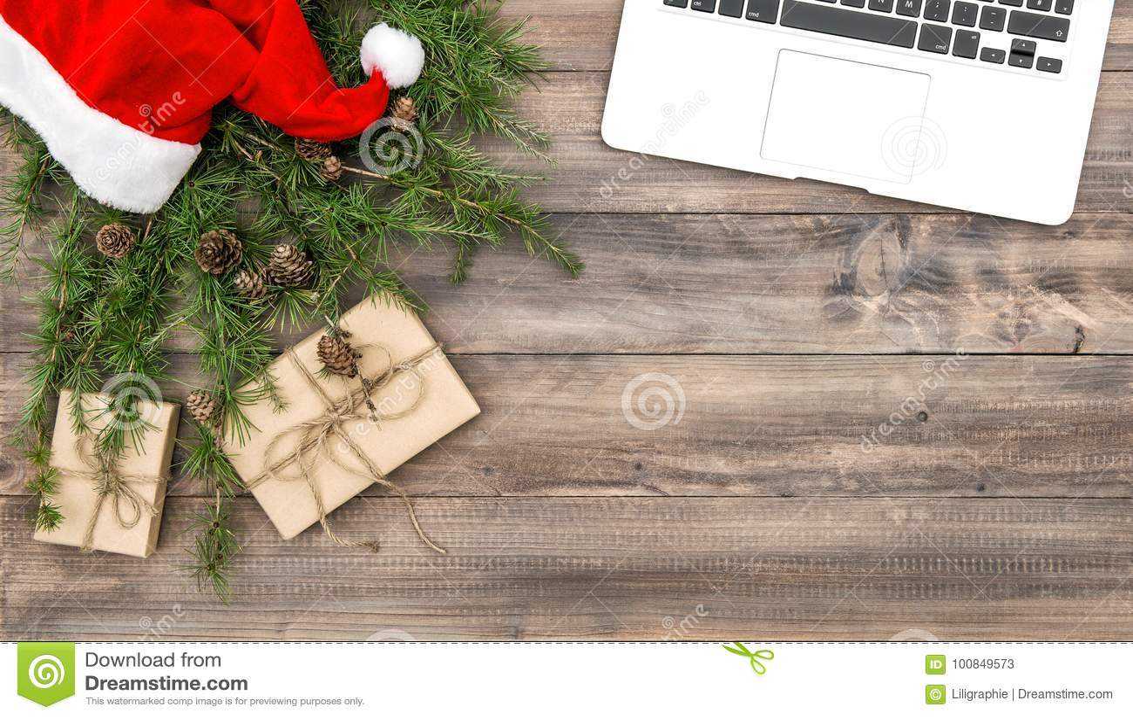 Gåvor för garnering för jul för kontorsskrivbord