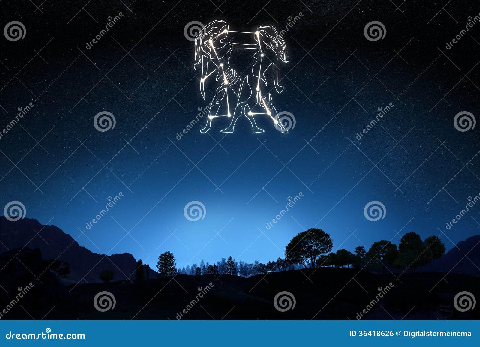 Gémeaux de signe de zodiaque