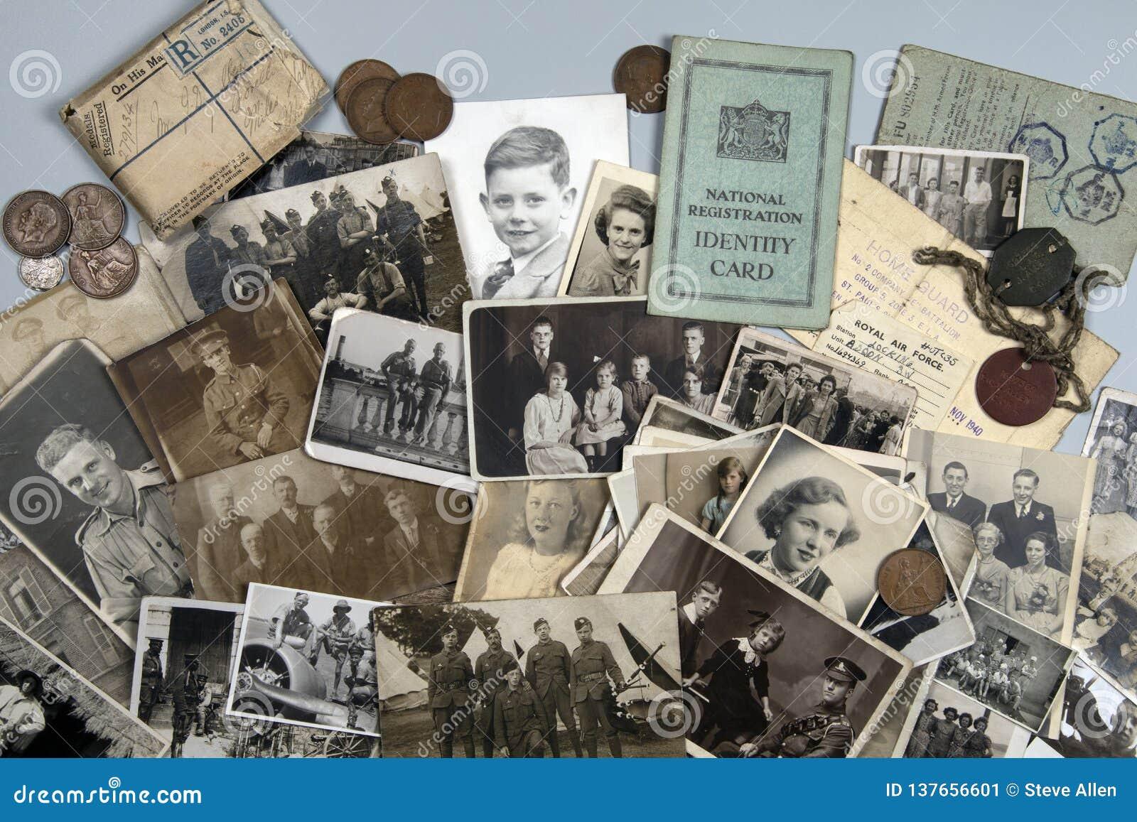 Généalogie datant vieilles photographies