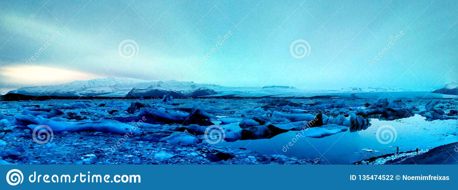 Gór lodowych Voyagers