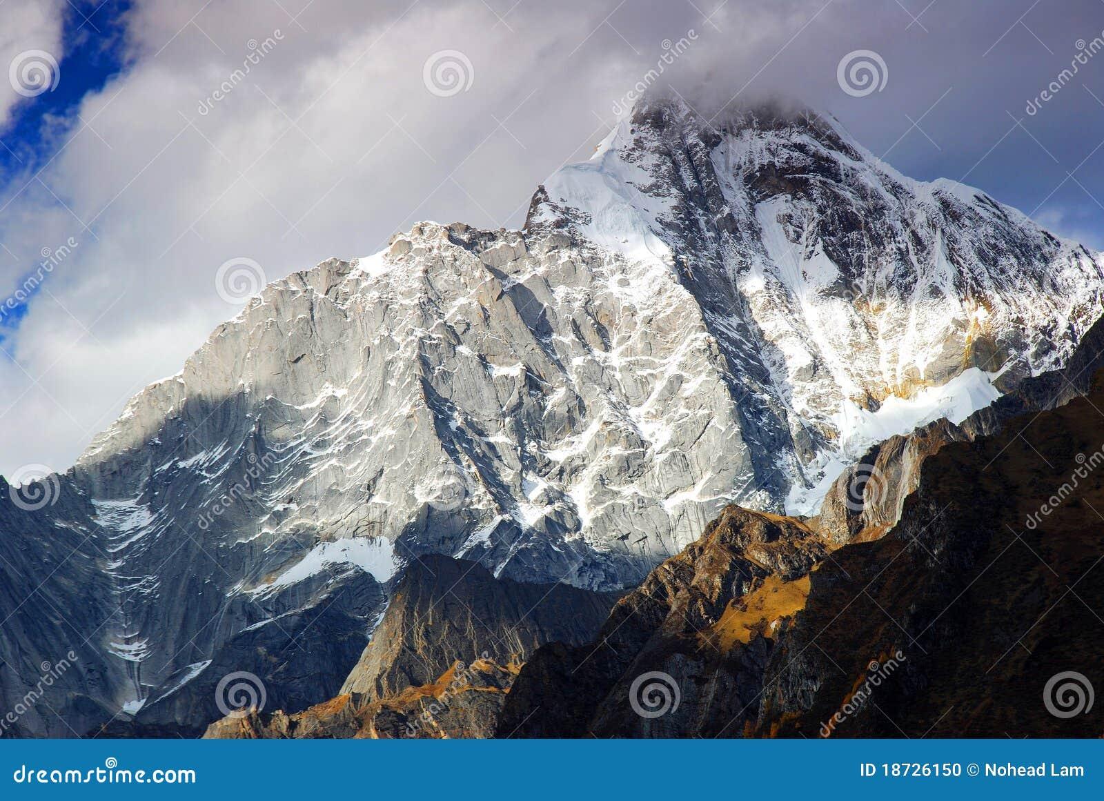 Góra śnieg