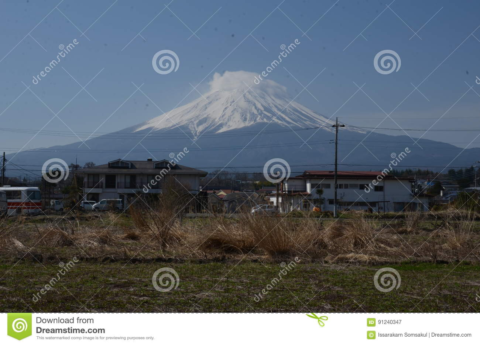 Góra Fuji Japonia