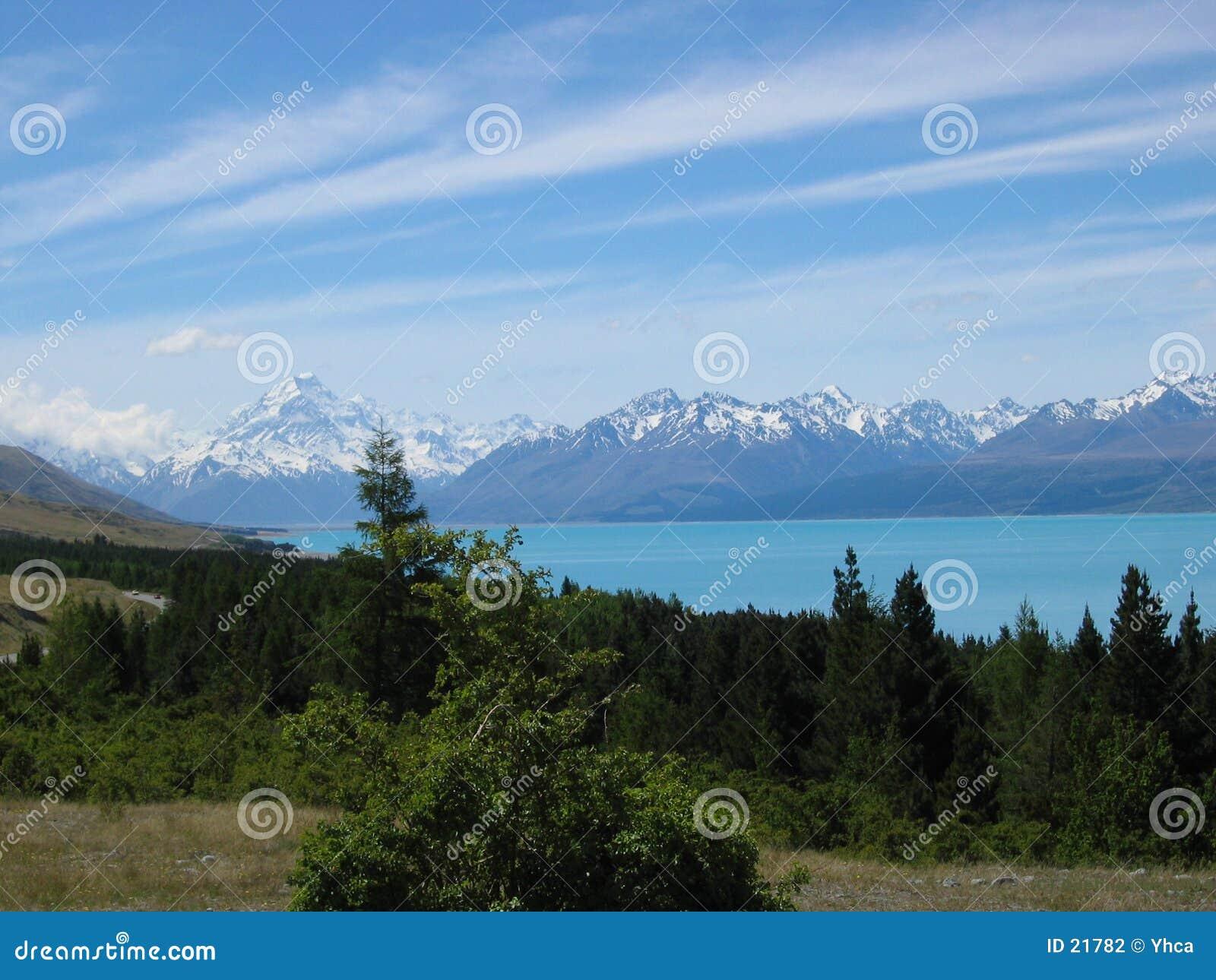 Góra kucbarska nowe Zelandii