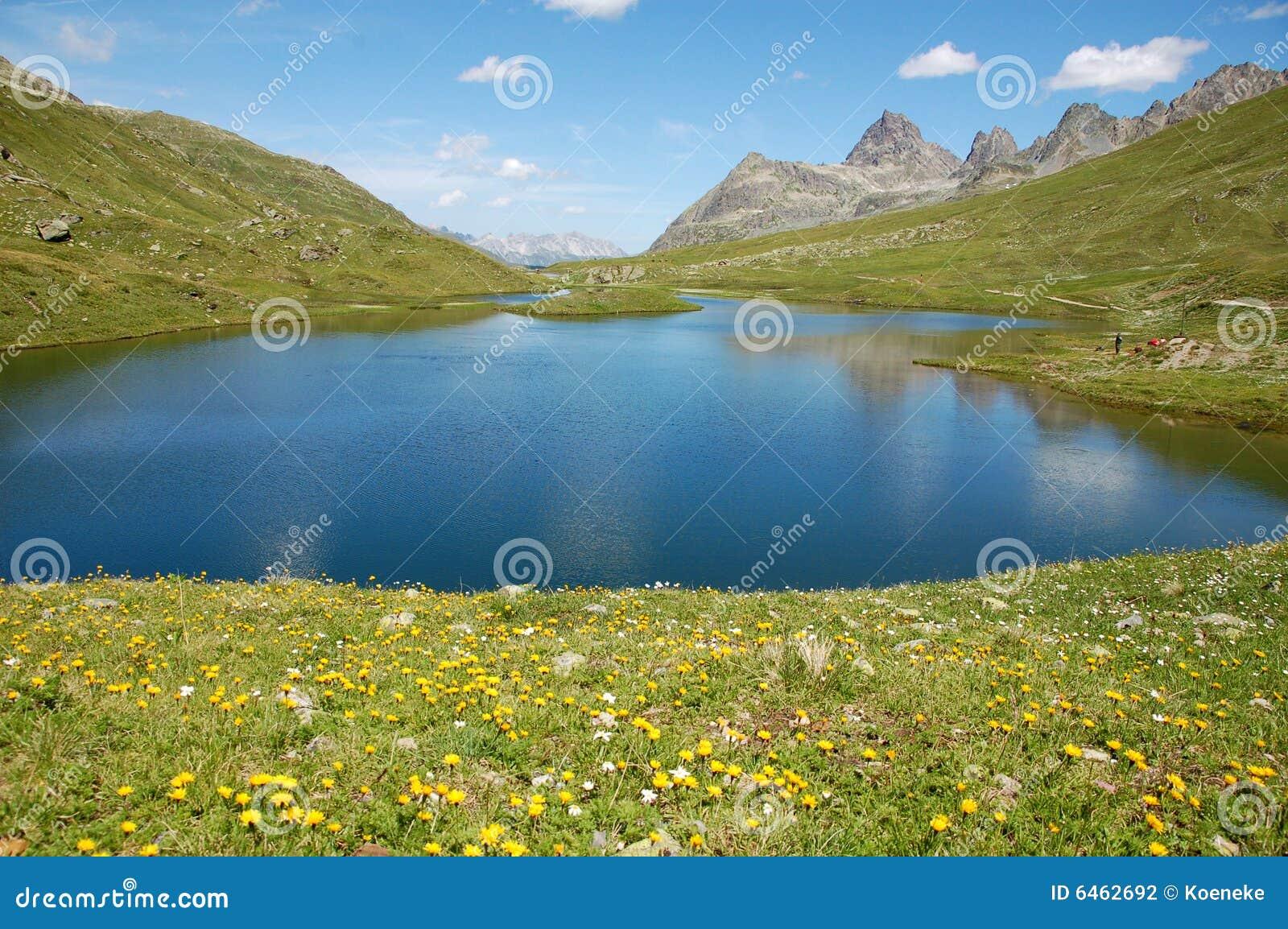 Góra scheidseen lake