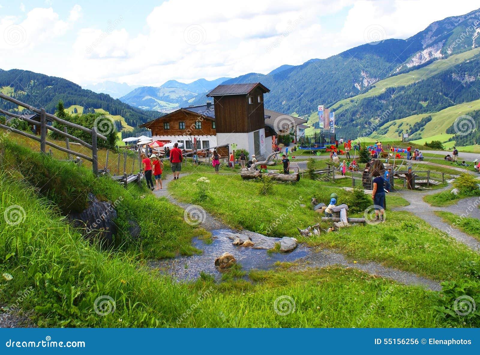 Góra sensy w Alps Halnych