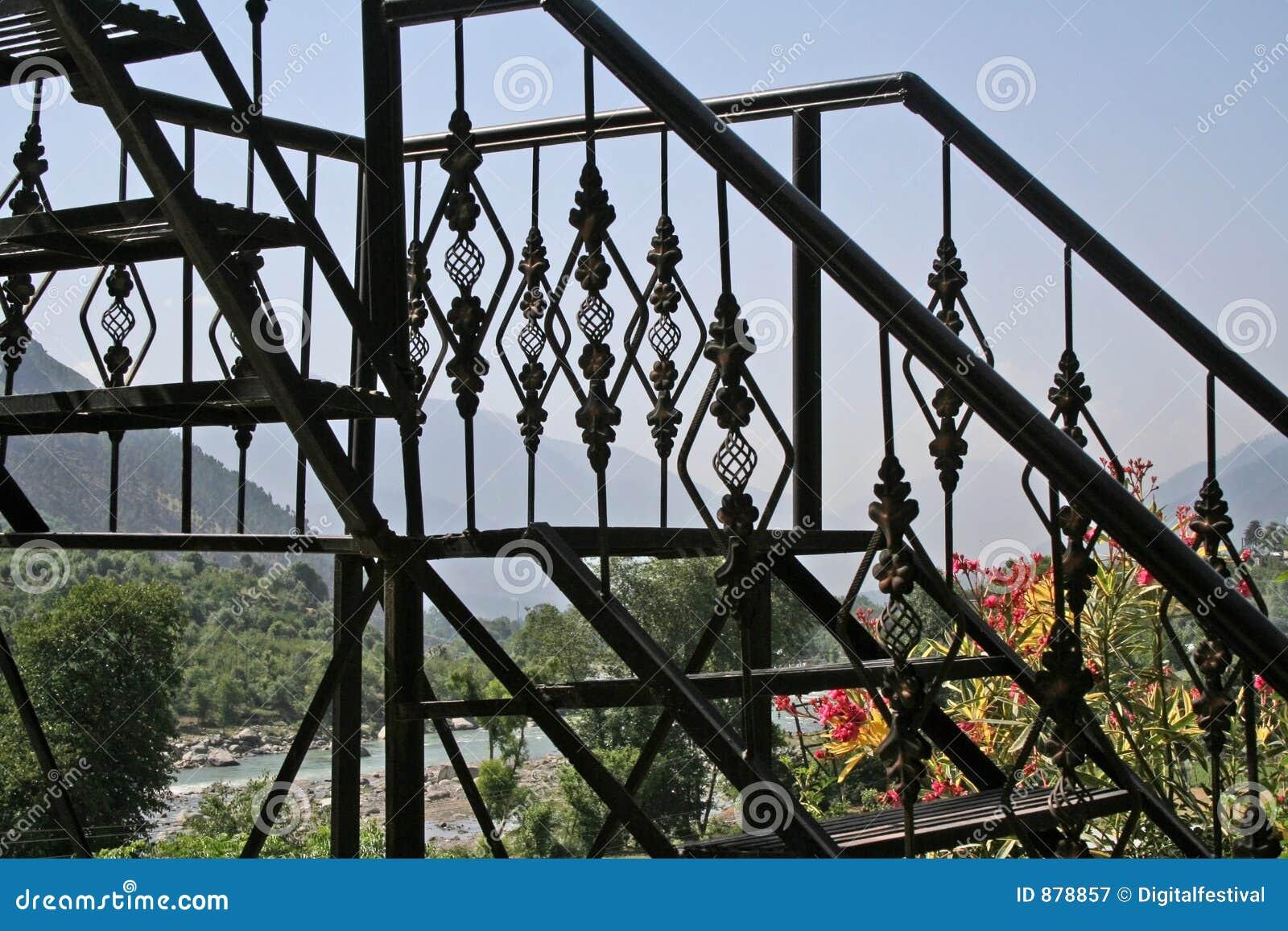Góra się żelaznej krajowej widok dokonanego